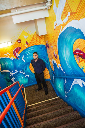 August: Andaz Mural Unveiling