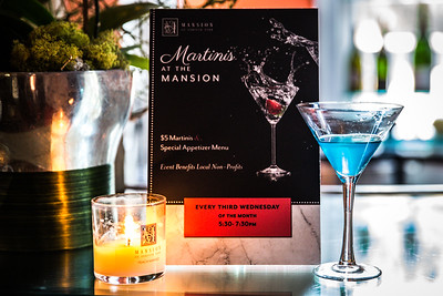 August Martinis at the Mansion